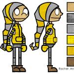 Rachel Color Sheet